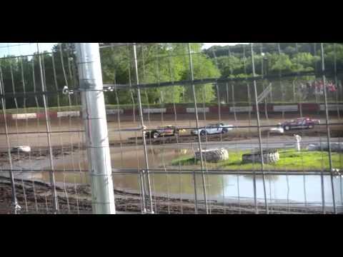 6.20.15---Peoria Speedway----Street Stock Heat Race