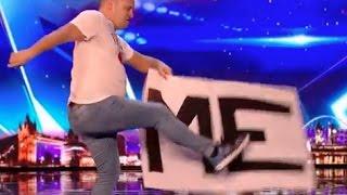 Adam Keeler Brings Song's Lyrics to Life | Week 1 | Britain's Got Talent 2017