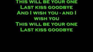 Lordi-Last kiss goodbye lyircs