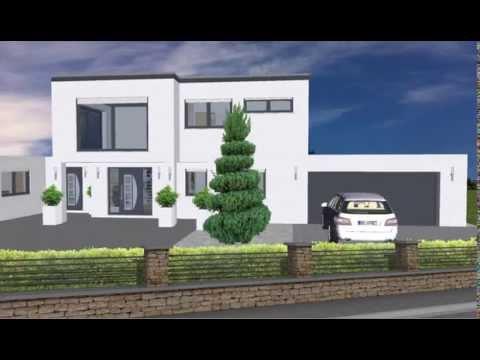 Luxus fertighaus villa  WOLF-HAUS geplant von EMI-SUPPORT LUXUS PUR IM BAUHAUSSTIL VILLA ...