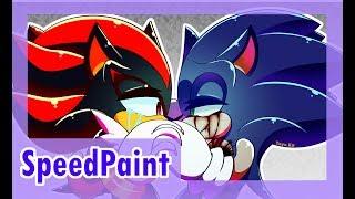|SpeedPaint|Goodbye, Faker|Sonadow[???]|