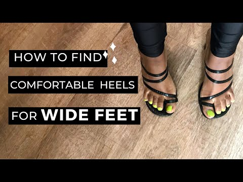 How To Find Comfortable Heels For WIDE Feet & Bunions