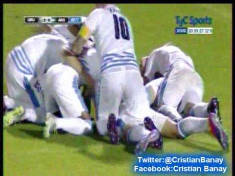 Uruguay 3 Argentina 0  (Espectador Am 810)  Sudamericano Sub 20 2017