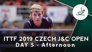 2019 Czech Junior & Cadet Open | Day 5 Afternoon