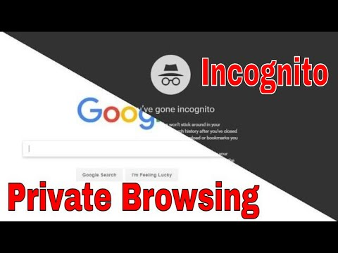 How to browse incognito