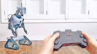 Remote controlled robot based on Arduino, Makeblock and DIY parts