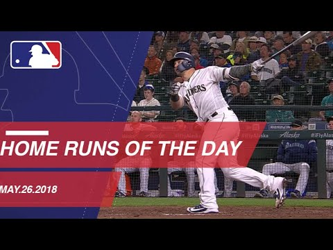 Watch all the home runs from May 26, 2018