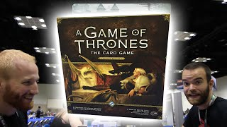 Core Set Unboxing - Plots - Thrones 2nd Edition - GenCon 2015