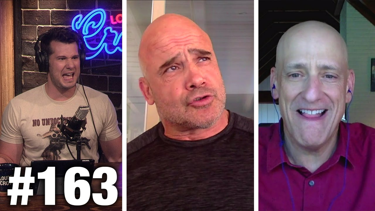 #163 TRUMPCARE WINS! BILL NYE LOSES! Bas Rutten and Andrew Klavan | Louder With Crowder