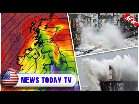 Storm caroline warning: 'danger to life' alert as arctic freeze to smash britain | News Today