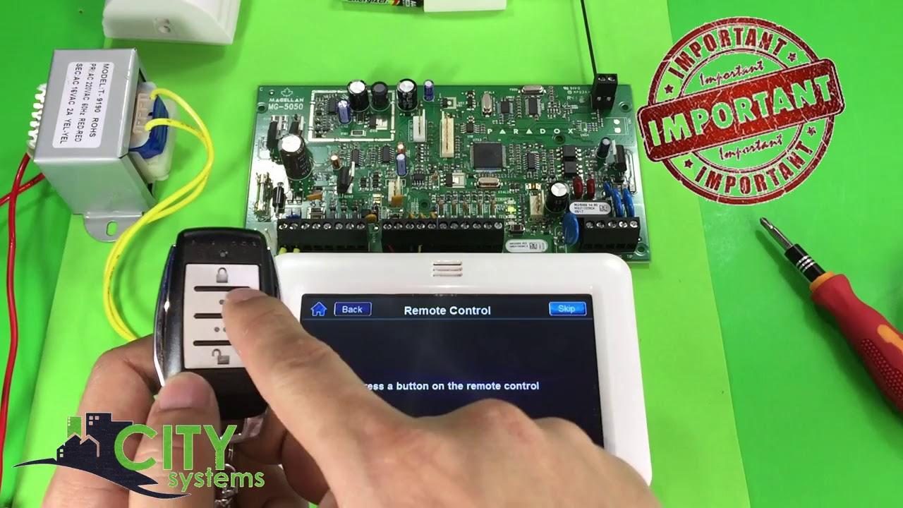 How To Program Paradox Rem15 Using Tm50 Keypad 1 Youtube
