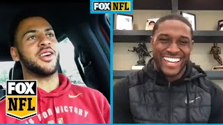 Michael Pittman Jr. talks NFL Draft, USC Football and more with Reggie Bush | FOX NFL