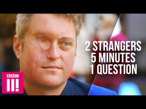 When Two Strangers Face Each Other For Five Minutes: Eye To Eye