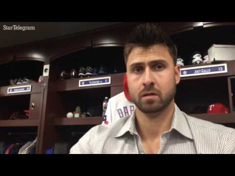 Joey Gallo was unaware his foul ball hit fan but vows to send her souvenir
