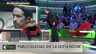 """Pablo Iglesias: """"No tengo ningún problema con la bandera de..."""