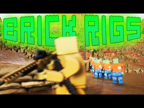Defending Against the Angry Zombie Horde! - Brick Rigs Gameplay  Brick Rigs Multiplayer