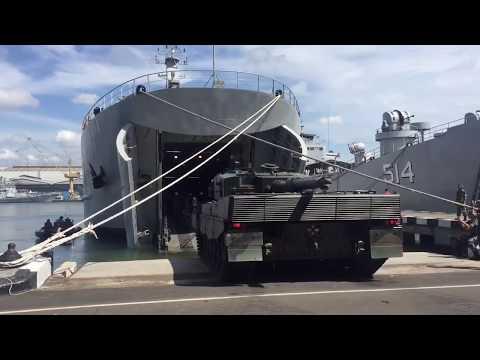 KRI Bintuni MBT Leopard Loading