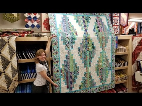 Let's Make! | Long Tall Quilt Pattern