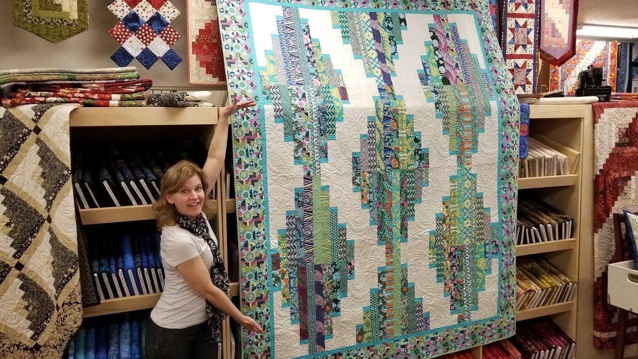 47fffab2bc7f4d Long Tall Quilt Pattern. Jordan Fabrics