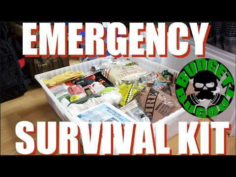 DIY: Emergency Survival Kit -- 15 ESSENTIAL & PRACTICAL Items For Natural Disasters | Budget Bugout