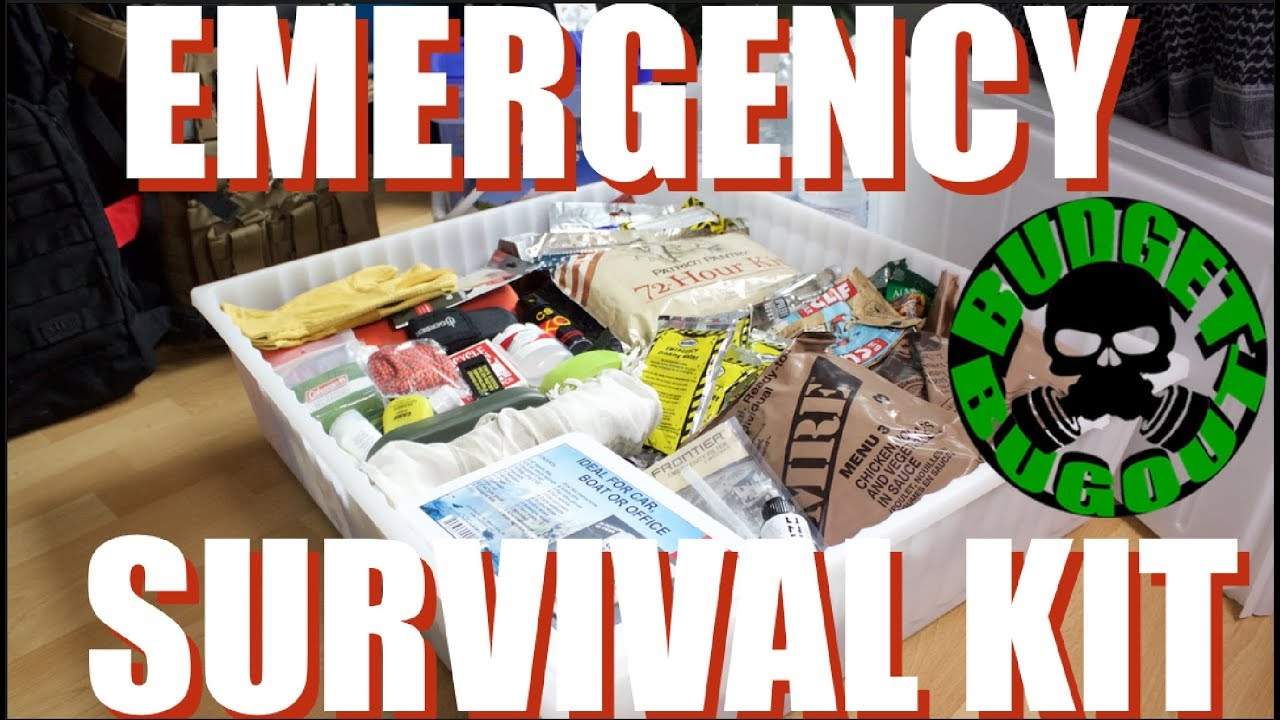 Diy Emergency Survival Kit 15 Essential Practical Items For Natural Disasters Budget Bugout