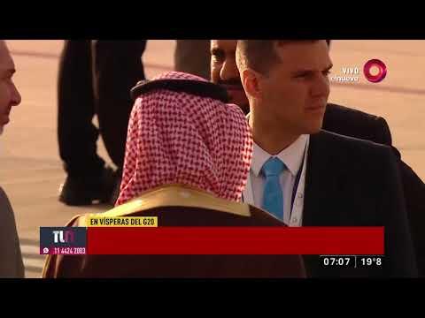 Así fue la llegada del príncipe de Arabia Saudita a nuestro país