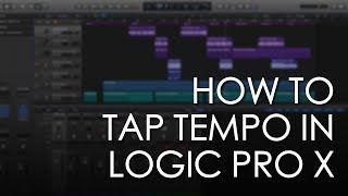 Як тап Темпо в логіці про X - логіка X підручник - Soundgrains