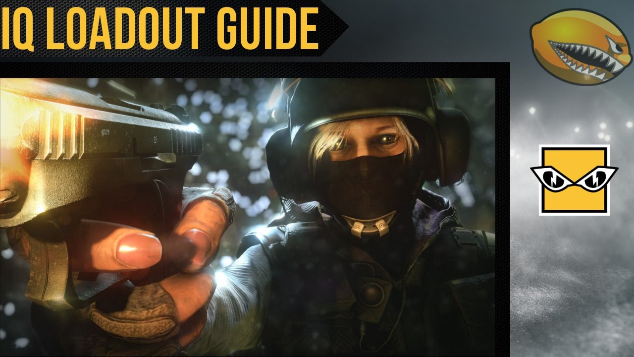 Best IQ Loadout Guide Rainbow 6 Siege Gameplay | eLemonadeR R6 | #R6