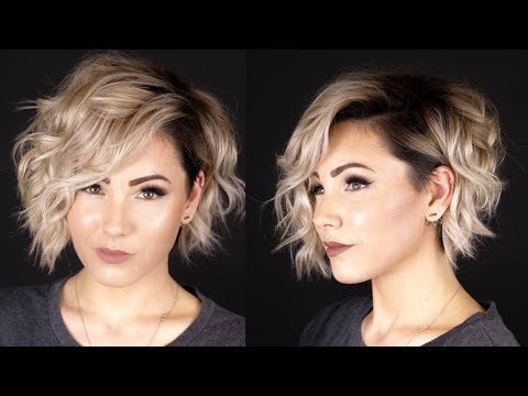 VOLUMINOUS CURLS | short hair