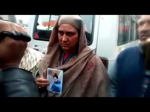Parents appeal militant son to come back to home family from Malangpora area South kashmir Pulwama