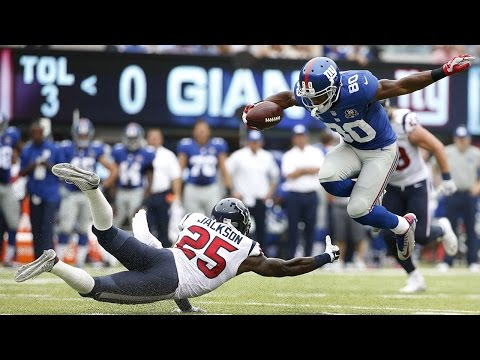 Victor Cruz dances around Texans to score a touchdown (Week 3, 2014)