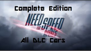 Need for Speed Rivals - All DLC cars showcase