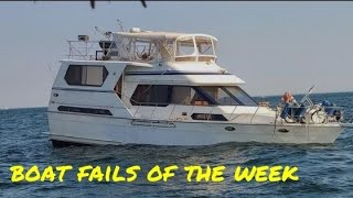 Boat Fails of the Week | Going down with the ship 😬