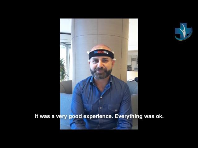Hair Transplantation Turkey - Mr. Alessandro Zito Testimonial - Skin Health Turkey / Dr. Oyku Celen