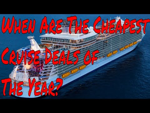 Cruise Ship Deals When Can You Take the Cheapest Cruises Of the Year? Plus Q and A