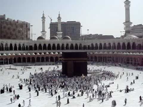 Adhan At The Holy Harem Sharif in Mecca Travel Video