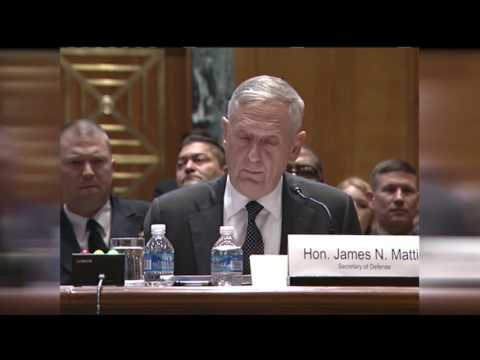 Mattis, Dunford Testify Before Senate Appropriations Committee - Part 1