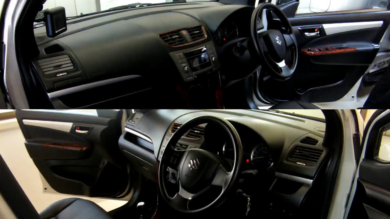 Car interior modification