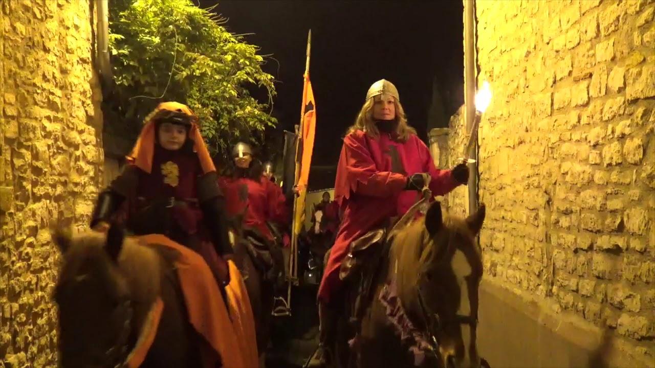 Mercredi 8 décembre : Chevauchée de Nuit Médiévale aux flambeaux