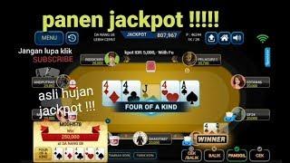 Meja Poker Panen Jackpot Youtube
