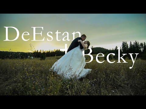Beautiful Spokane Wedding// DeEstan+Becky
