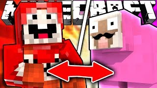 If ExplodingTNT and Pink Sheep Switched Places - Minecraft