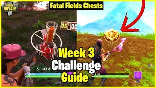 Flush Factory Treasure Map + Clay Pigeon Locations | S5 Week 3 Challenge Guide - Fortnite
