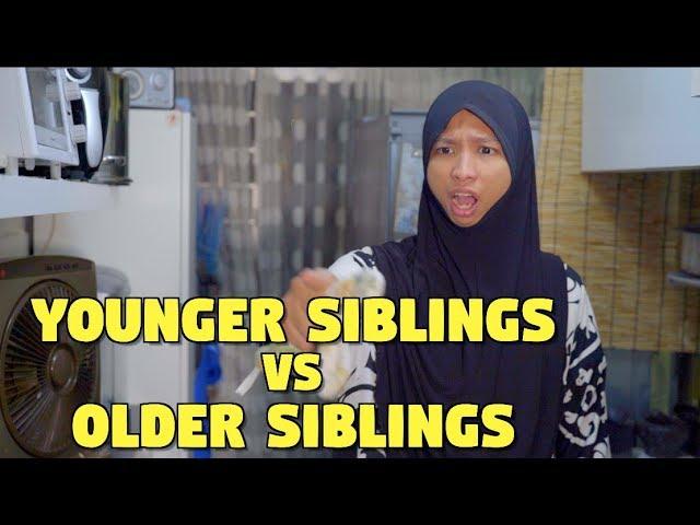 Younger Siblings vs Older Siblings