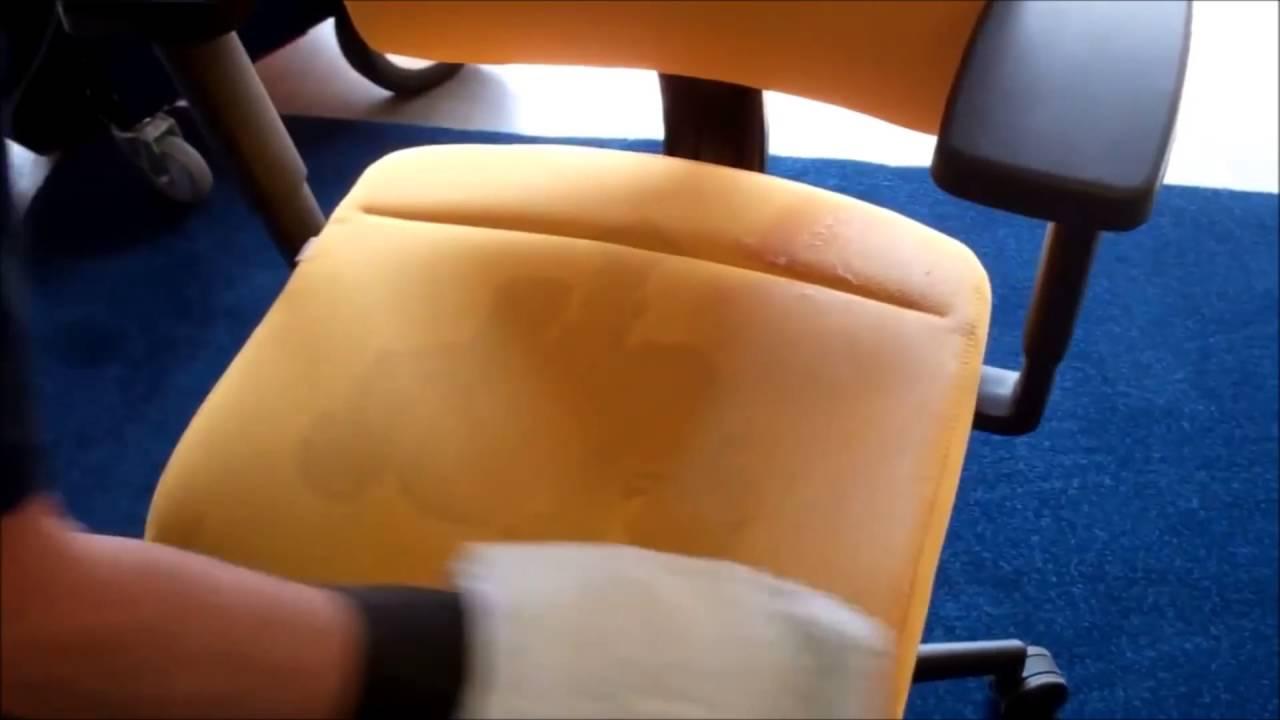 Stoffen Stoel Schoonmaken : Stoel reinigen sioen furniture youtube