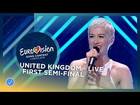 SuRie - Storm - LIVE - United Kingdom - First Semi-Final - Eurovision 2018