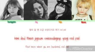 Video Yuju x Joy x Seungyeon x Momo - Touch My Body (color coded lyrics) download MP3, 3GP, MP4, WEBM, AVI, FLV Juni 2018