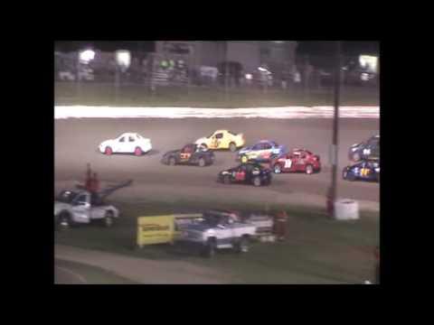 Eagle Raceway Sport Compact A Feature on 8-6-16