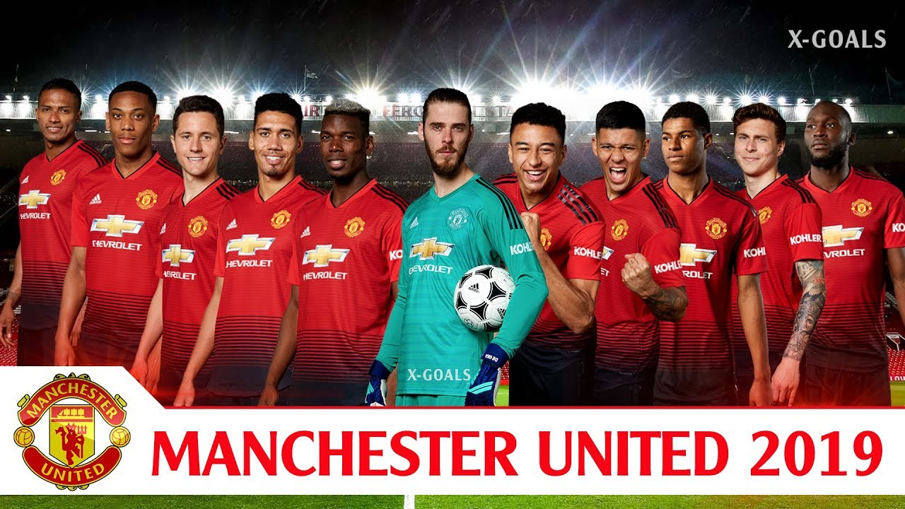 Manchester United Squad 2018 19 All Players Man Utd Team Official Youtube