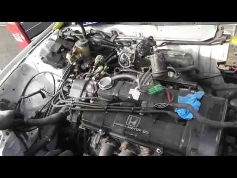 T2CG Honda Civic EF Part 13 : D16A9 Engine Removal